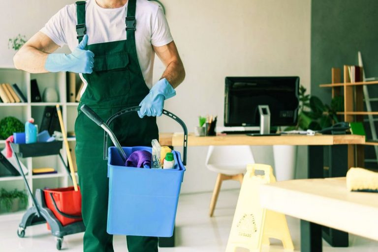 Commercial property cleaning services